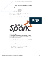 Spark 2_ How to Install It on Windows in 5 Steps - Doron Vainrub - Medi...