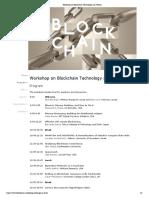 a blockchain workshop