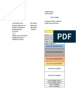earthquake Load Calculation