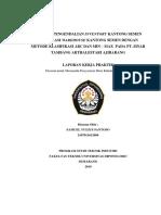 Laporan KP Pengendalian Inventory Dengan Metode ABC dan Min - Max