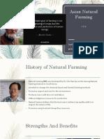 Asian Natural Farming