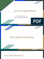 Dynamics of Digital Media