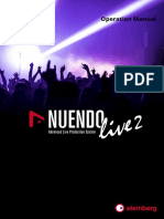 Nuendo Live 2 Operation Manual En