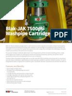 Blak-JAK 7500psi Washpipe Cartridge