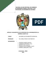ANÁLISIS Y DIAGNOSTICO DE LOS PROCESOS DE LA INFORMACIÓN EN LA EMPRESA FLESOFT SAC