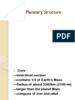 2 Earths Planetary Structure