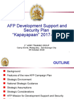 development and security plan