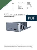CNSS-06-1368-B Technical Manual VDL 6000 AIS Class a Airborn