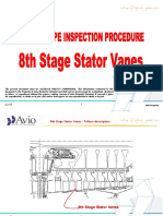 Boroscope Inspection Procedure 8th Stage Stator