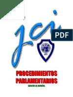 Procedimiento Parlamentario JCI