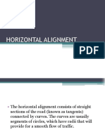 2. Horizontal Alignment (1-2)