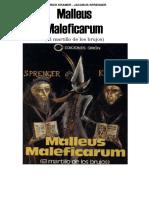 Malleus Maleficarum - El martillo de los brujos