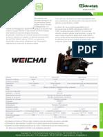 C12 PAG 21 22 Motores Diesel Weichai Serie 226