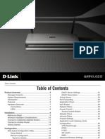 D-Link 625 Wireless Router Manual - Dir625_revC_manual_300