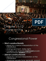 Ch.11-12 Congress in Action STUDENT NOTES