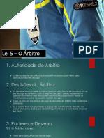 Lei 5 - O Árbitro.pptx