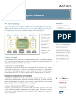 CCM for SoD and Sensitive Access for JD Edwards Applications