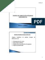 Clase HZ. Tiempos de fabricación máquinas herramientas.pdf