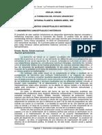 Oszlak - La Formación Del Estado Argentino, Capítulo 1