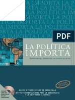 La Política Importa - Sistemas de Partidos y Gobernabilidad Democrática