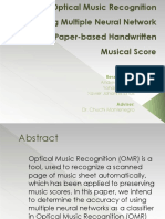 Optical Music Recognition Presentation