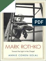 Mark Rothko Toward the Light in the Chapel