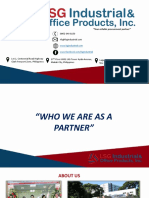 LSG Company Profile 2019
