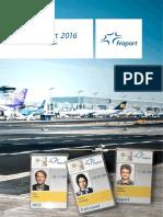 Fraport Annual Report 2016 Safe