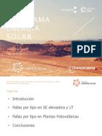 Desafíos en Chile de la Fotovoltaica