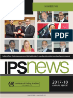Special issue of IPS News (No. 101) / Annual Report 2017-18