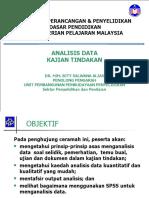 Analisis Data Kajian Tindakan