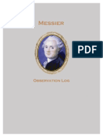 Messier Log Book