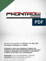 Frontrowpresentation Jenina 131220042927 Phpapp02