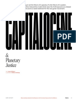 The Capitalocene and Planetary Justice