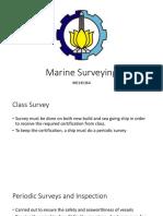 Type of Marine Class Survey