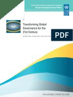 Transferring Global Governance