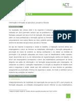 Nota Técnica_006_2016_Informação e Formação Para Trabalhadores Do Setor Agrícola