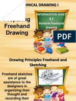Perform Freehand Drawing