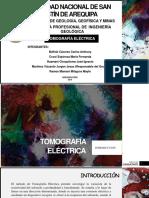 TOMOGRAFÍA ELECTRICA. PROSPECCIÓN GEOFÍSICA.pptx