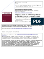Engaging Youth in Community Change