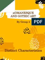 Romanesque and Gothic Art