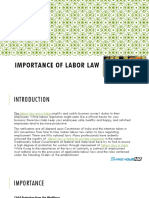 Importance of Labor Law