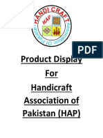 Product Display Proposal for HAP
