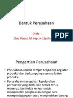 Bentuk Perusahaan-1