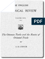 The Ottoman Turks and the Routes of Oriental Trade
