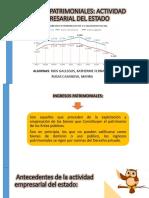 Ingresos-patrimoniales- Actividad Empresarial Del Estado