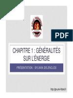 Energie Chapitre1 2014 2015
