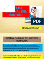Sistema Nacional Del Control