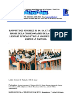 Rapport de La Journee 16-24-26 Juin 2010