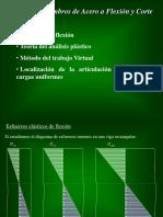 6.- Análisis Plástico de Flexión. Rótula Plástica. Trabajo Virtual